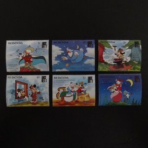 Disney Animation Foreign Stamps - Bundle and Save